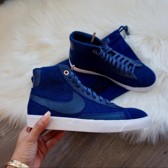 huge discount e7c8e 12659 Nike Blazer Mid Premium Binary Blue